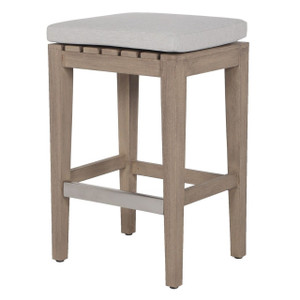 Dale Natural Teak Outdoor Counter Stool