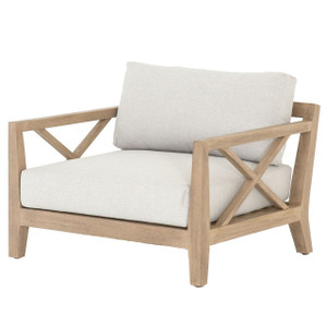 Huntington Natural Teak Outdoor Club Chair