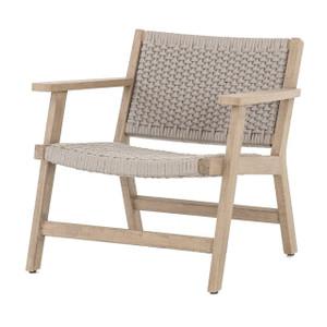 Delano Natural Teak Outdoor Rope Chair