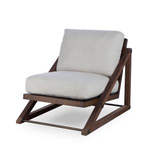 Teddy Oatmeal Fabric Lounge Chair