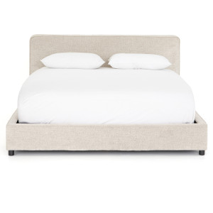 Aidan Low Profile Upholstered King Platform Bed