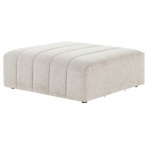 Langham Channel Tufted Square Ottoman