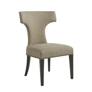 Soliloquy Curved Back Upholstered Dining Chair