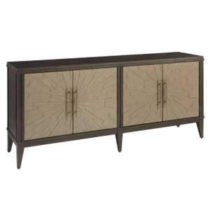 Arabella 4 Door Starburst Buffet Sideboard 78""