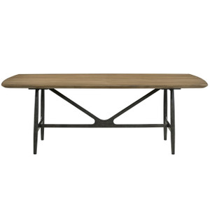 "Ingram Mid-Century Modern Dining Table 86"""