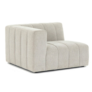 Langham Channel Tufted LAF Sectional Corner Chair