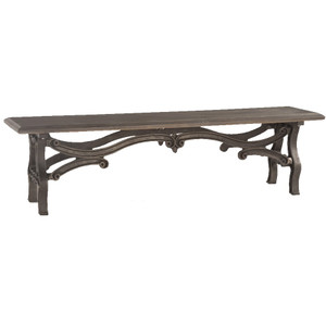 Hobbs Dutch Industrial Iron & Wood Dining Bench