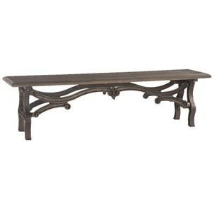 Hobbs Dutch Industrial Iron & Wood Dining Bench