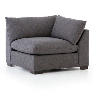 Westworld Modern Gray Sectional Corner Chair