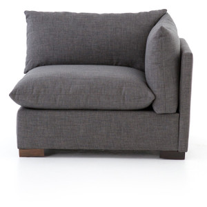 Westworld Modern Gray Right Arm Sectional Chair