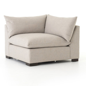Westworld Modern Neutral Beige Sectional Corner Chair