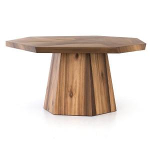 "Brooklyn Organic Yukas Wood Octagon Dining Table 60"""