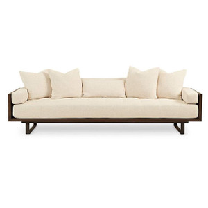 "Preston Modern Tufted Sofa 99"""