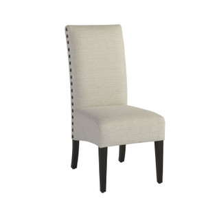 Addison Nailhead Upholstered Side Chair