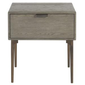 Gabby Modern Oak 1-Drawer Nightstand
