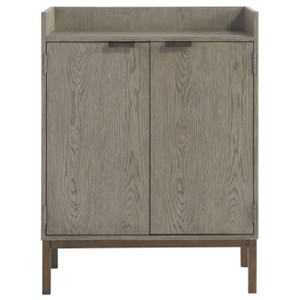 Gabby Modern Oak 2-Door Bar Cabinet