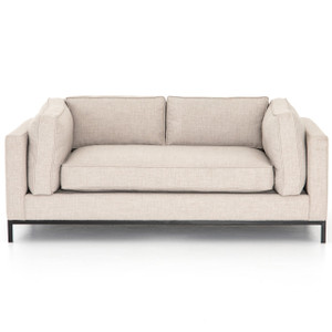 Grammercy Modern Natural Small Sofa 72""