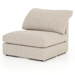 Ingrid Natural Sectional Armless Chair