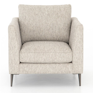 Kailor Modern Neutral Fabric Accent Chair