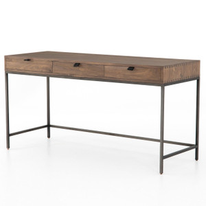 Fulton Industrial Modular Desk with 3 Drawers 60""
