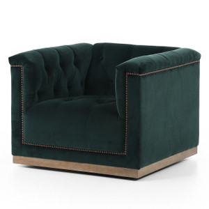 Maxx Tufted Swivel Chairs