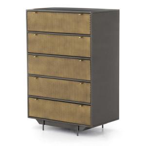 Hendrick Industrial Mesh 5-Drawer Dresser