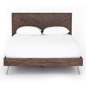 Harrington Wood King Size Platform Bed
