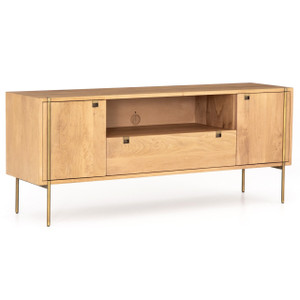 Carlisle Danish Modern Oak Media Console 68""