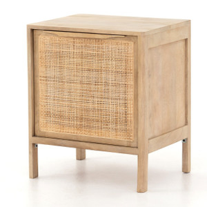 Sydney Woven Cane Nightstands