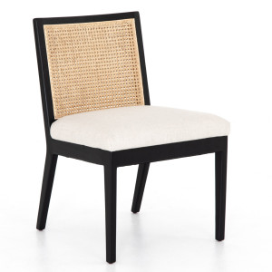 Antonia Woven Cane Back Dining Chair
