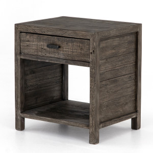 Caminito Reclaimed Wood 1 Drawer Nightstand