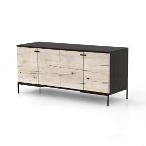 Cuzco Yukas Wood 4 Door Small Media Console 52""