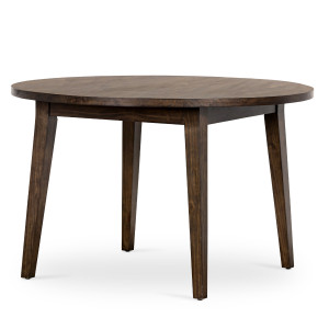 Torrino Reclaimed Wood Round Dining Table 48""