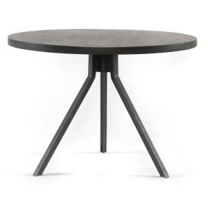 "Seneca Reclaimed Wood & Iron Tripod Round Bistro Table 42"""