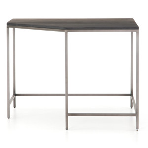 Fulton Trey Black Industrial Modular Corner Desk 41""