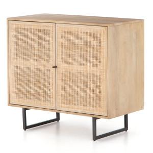 """Audrey Woven 2 Door Small Cabinet 35"""""""