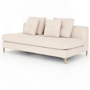 Greer Ivory Modular Sectional Sofa Pieces