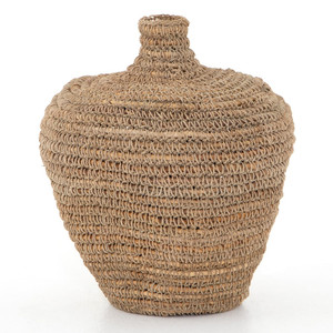 Bodhi Woven Natural Banana Leaf Basket