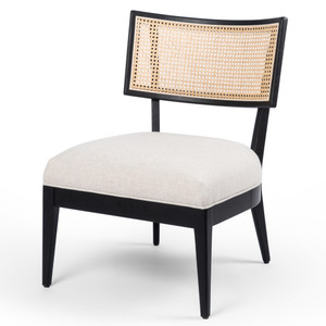 Britt Woven Cane Back Accent Chair