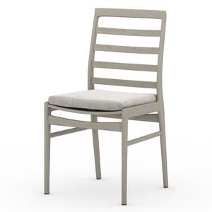 Linnet Grey Teak Outdoor Dining Chair