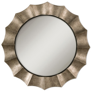 Gotham Antique Silver Decorative Wall Mirror