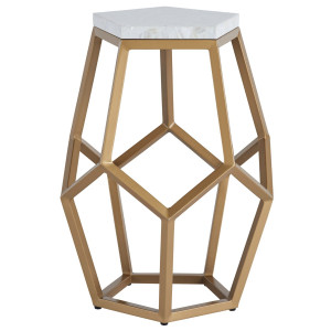 Opaline Gold+ Mother Of Pearl Martini Table