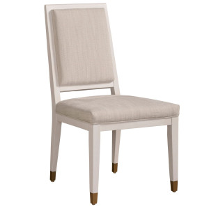 Love Joy Bliss Grey Upholstered Dining Side Chair