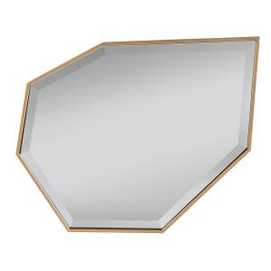 Kawaii Gold Frame Accent Mirror
