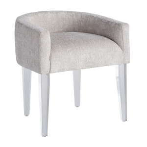 Love Joy Bliss Acrylic Legs Vanity Chair