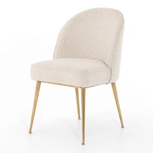 Jolin Modern Cream Boucle Dining Chair