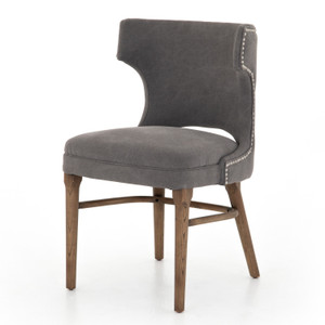 Task Dark Moon Canvas Chair