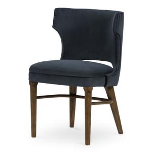 Task Modern Velvet Shadow Chair