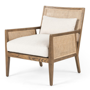 Antonia Toasted Nettlewood Cane Chair
