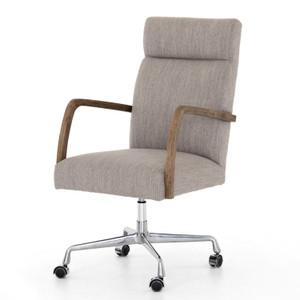 Bryson Savile Flannel Office Desk Chair